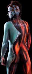 chono | bodypainting | om mani padme hum | joyclub | weg des blinden mannes | wild life tantra