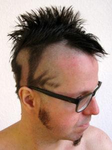 Lizard haircut | Eidechsen Frisur | Iro | Transformation | Der Weg des Wilden Mannes | Chono | Wild Life Tantra