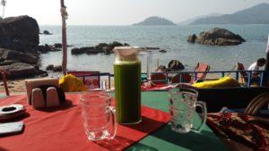 Hausgemachte Limo in Goa - Reisebericht Indien 2019