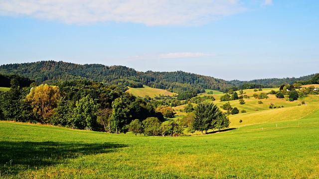 Freiraumparty im Odenwald in Seidenbuch malerische Landschaft