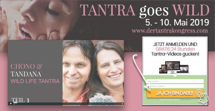 Tantra goes Wild — Der online Tantrakongress 2019